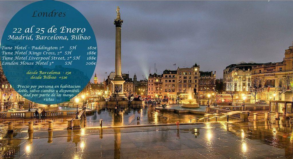 Londres 22 25 enero viajes callejeando por el mundo for Londres hotel madrid