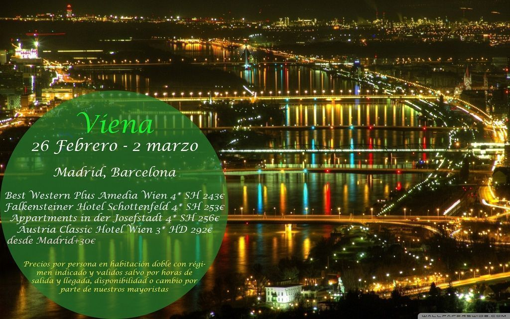 Viena 26 Febrero 2 Marzo Viajes Callejeando Por El Mundo