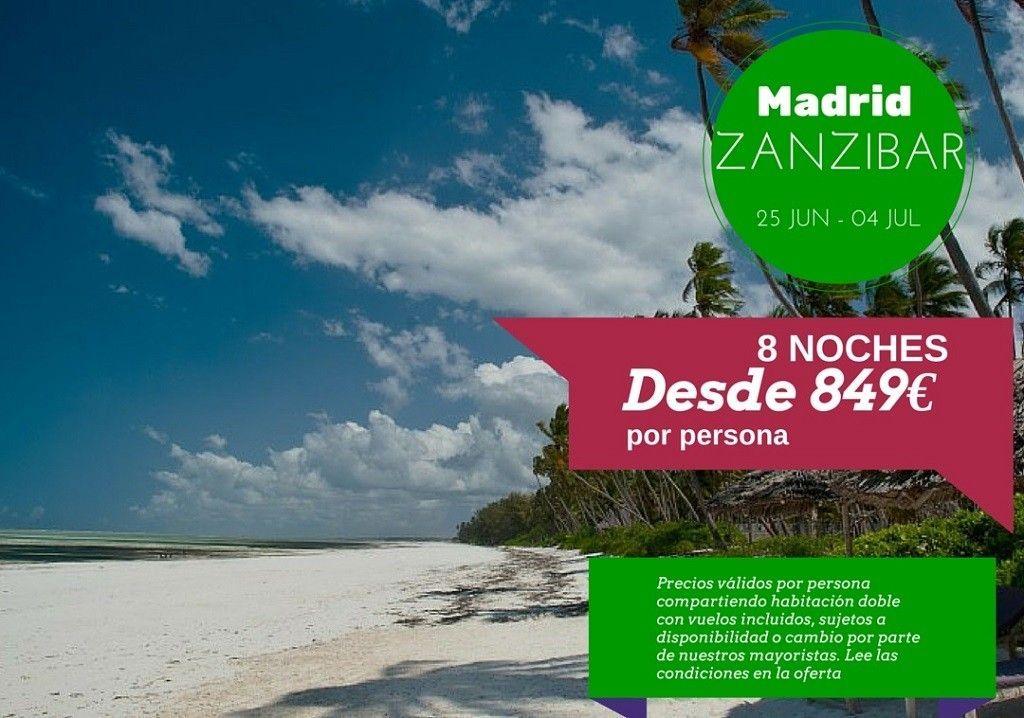 Zanzibar  25 jun - 04 julio