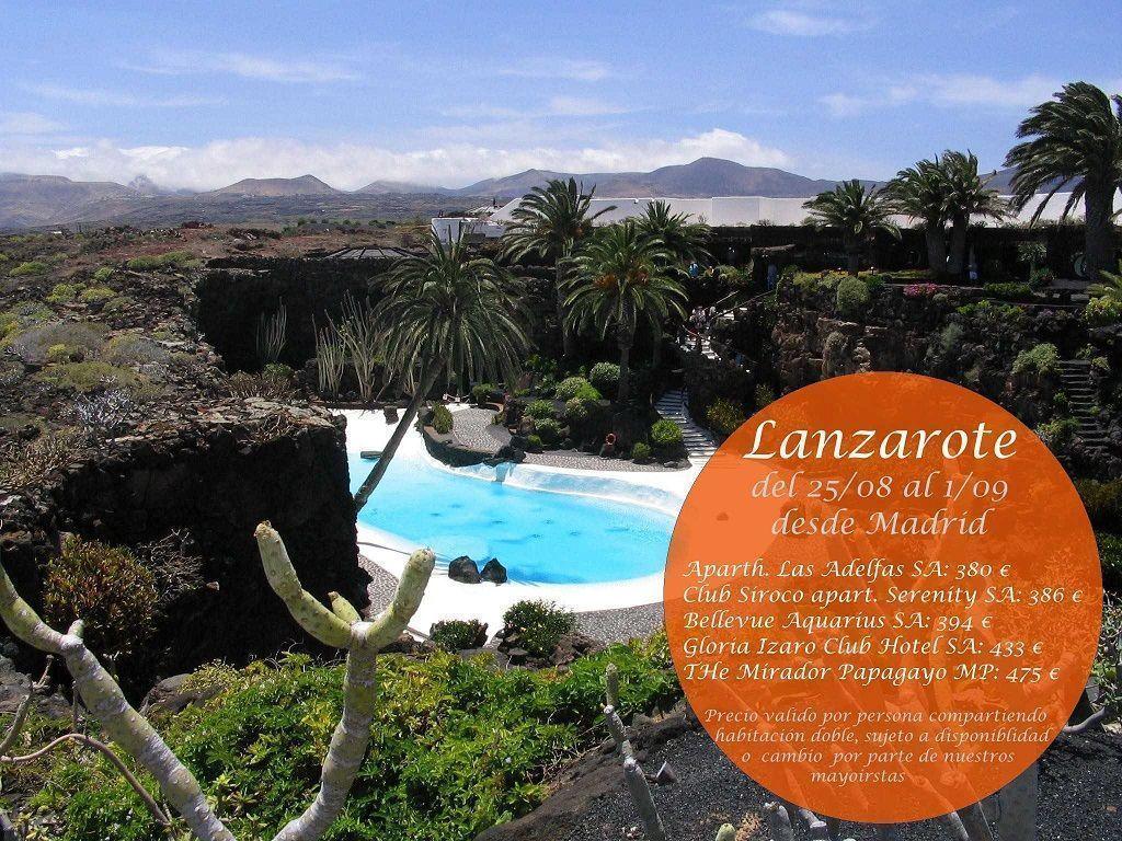 Lanzarote del 25 08 al 1 09 viajes callejeando por el mundo - Ofertas lanzarote agosto ...
