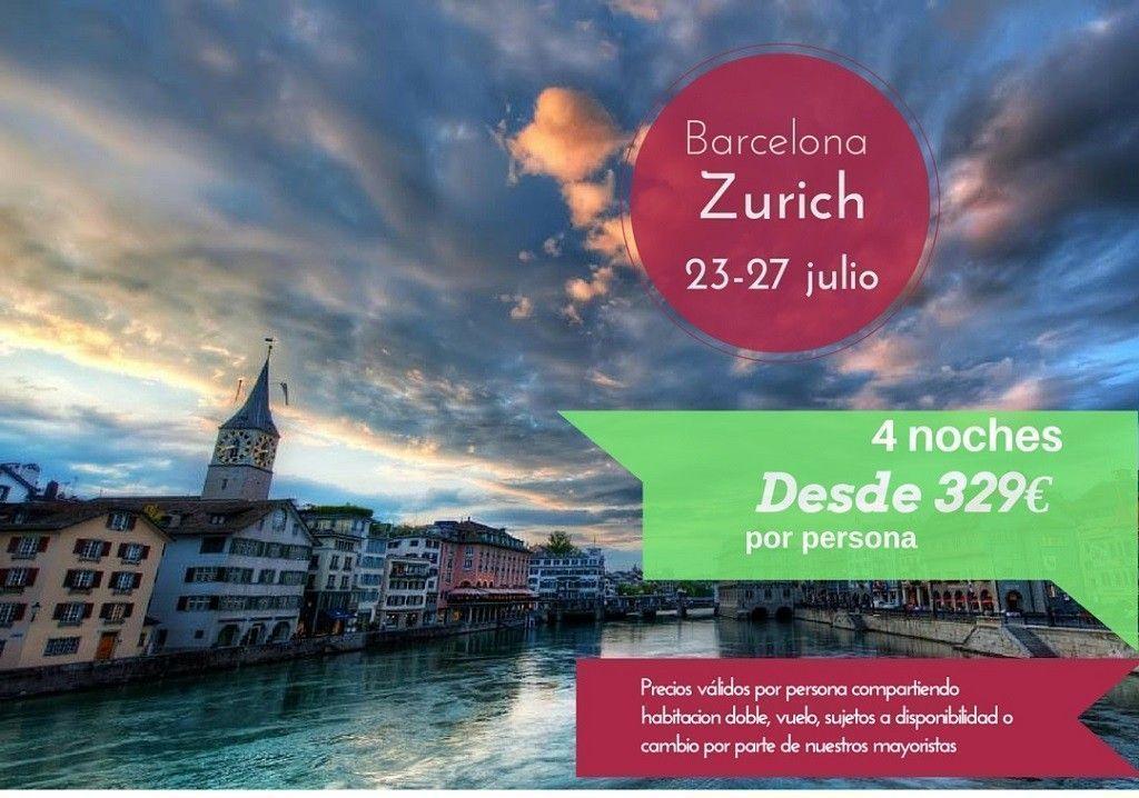 Zurich 23-27 julio