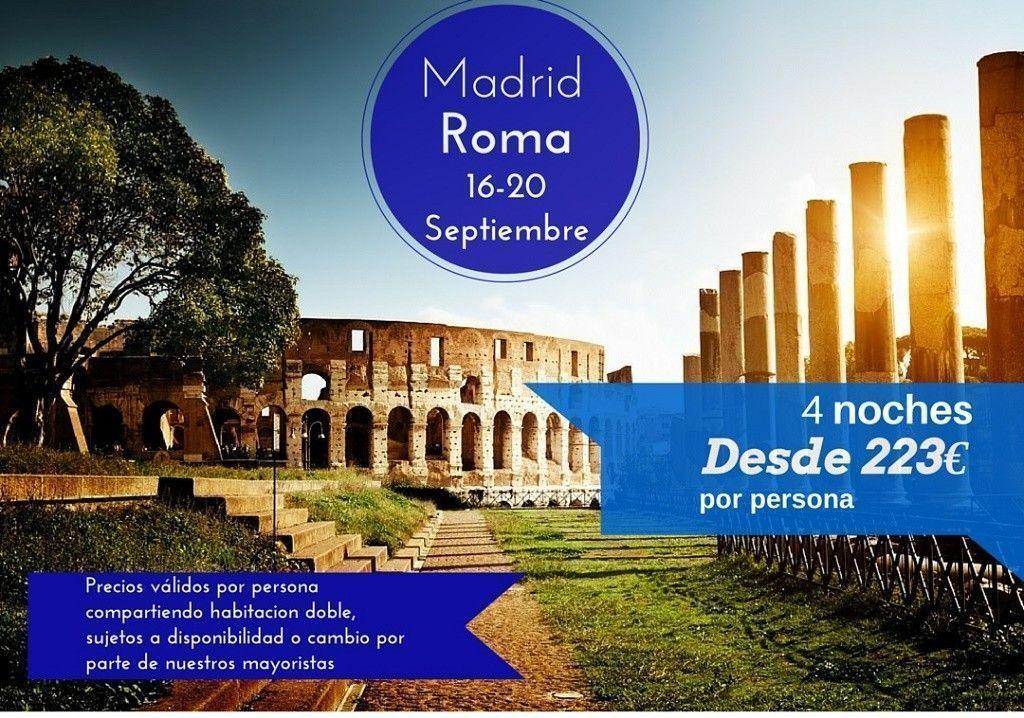 Roma 16-20 septiembre