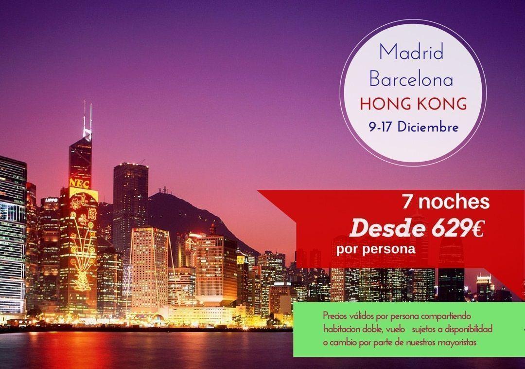 vuelo hong kong barcelona: