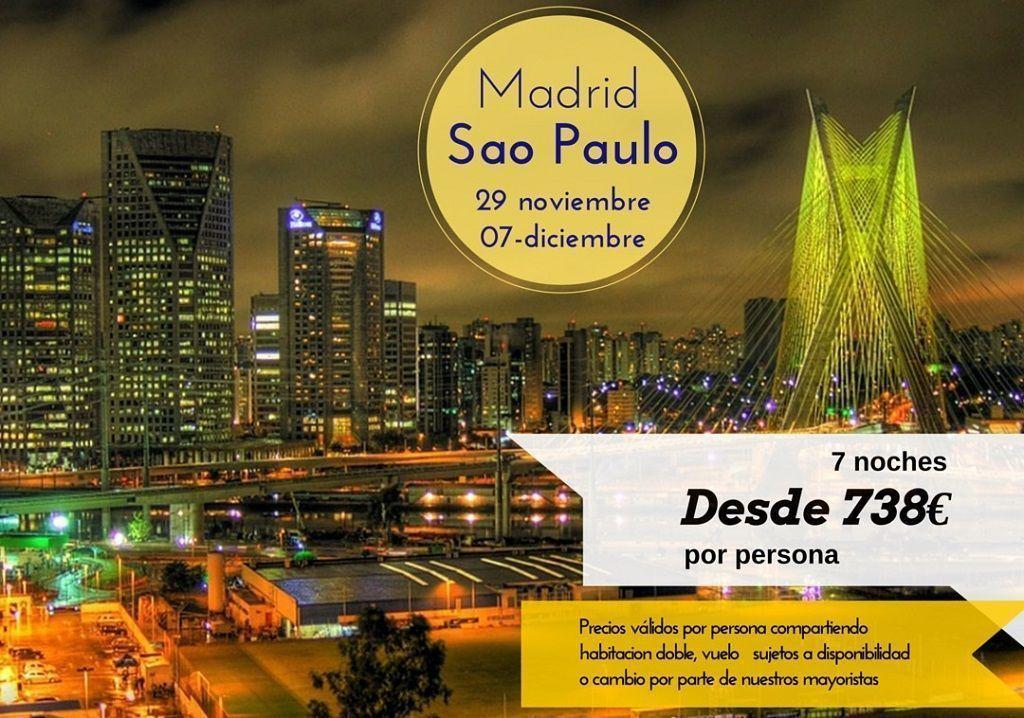 Sao Paulo 29 nov 7 dic