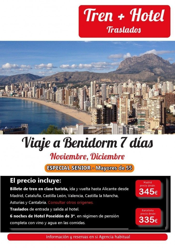 Viaje a Benidorm 7 días