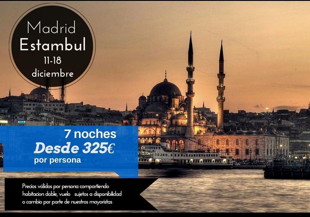 Estambul 11-18 diciembre