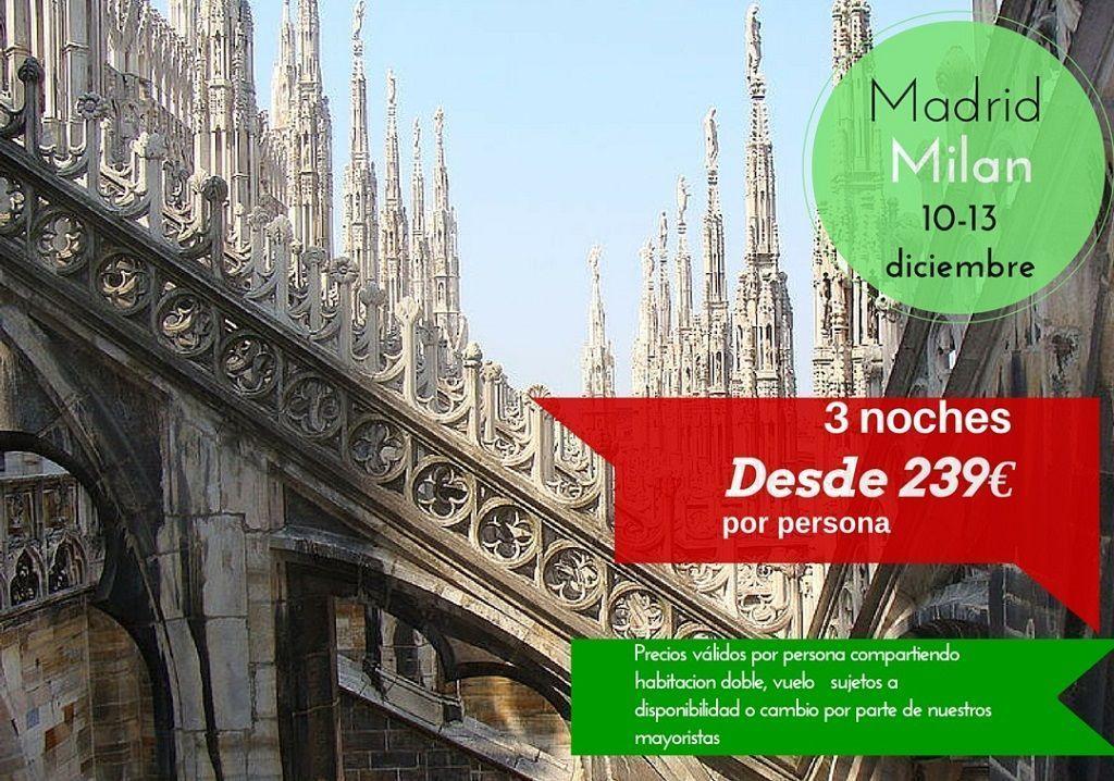 Milan 10-13 diciembre