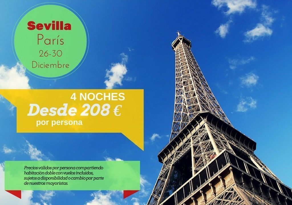 Paris 26-30 diciembre