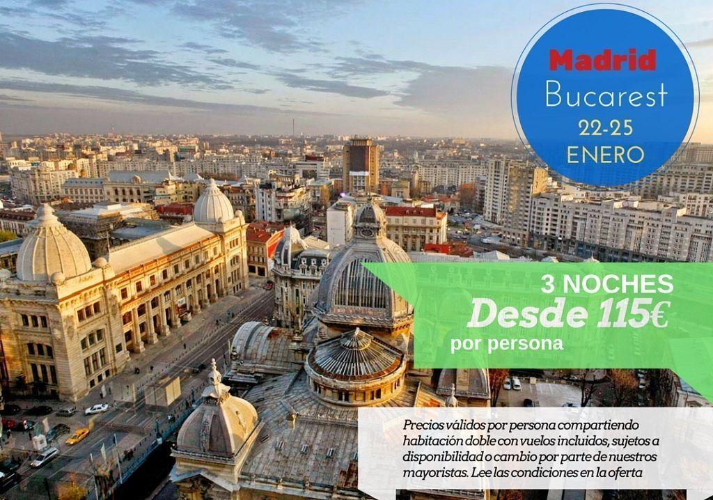 Bucarest 22-25 enero