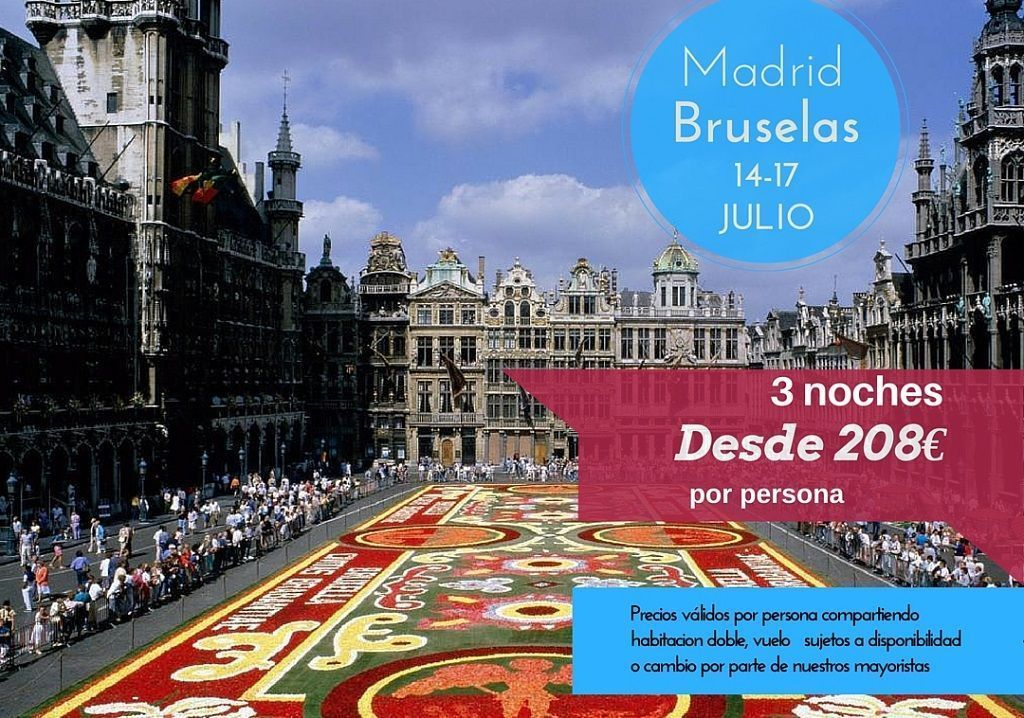 Bruselas 14-17 julio