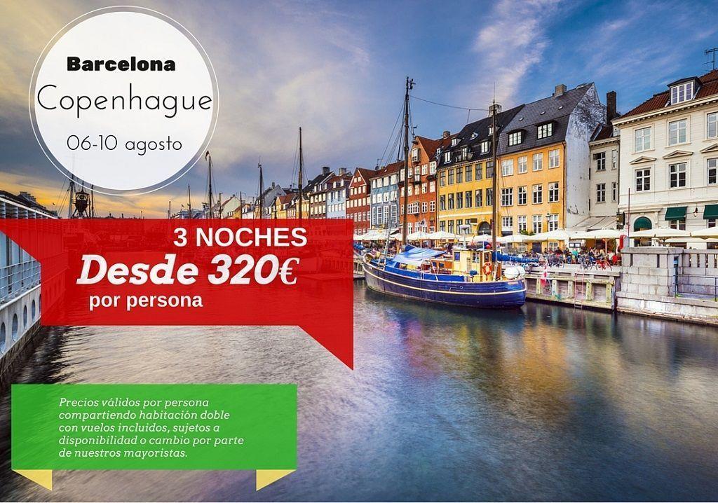 Copenhague 25-28 agosto