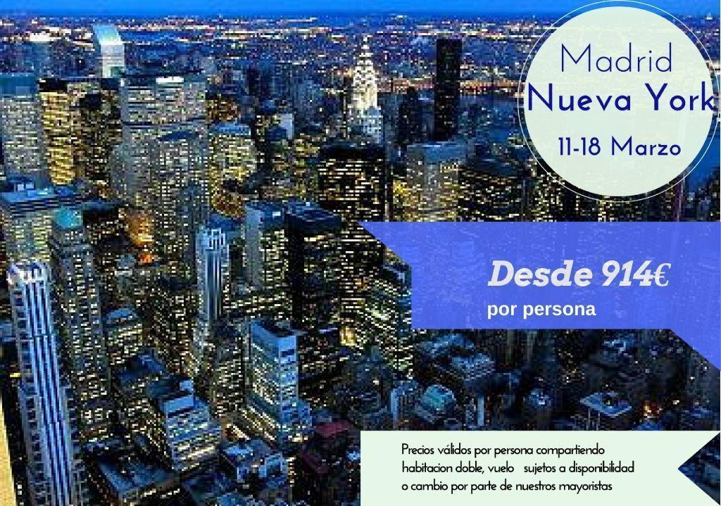 Nueva York 11-18 marzo
