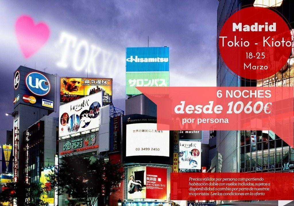 Tokio y Kioto 6 noches