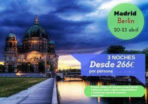 Berlin 3 noches