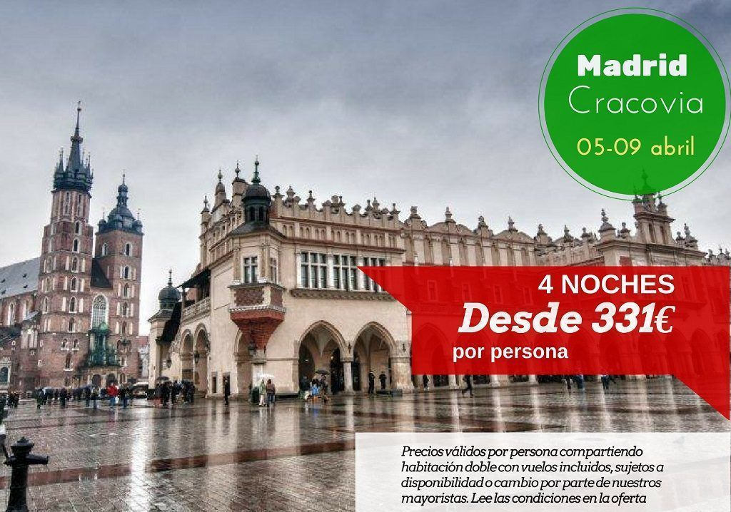 Cracovia 4 noches