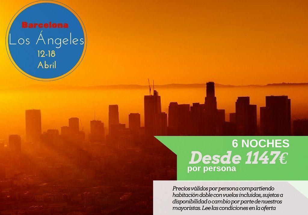 Los Angeles 6 noches