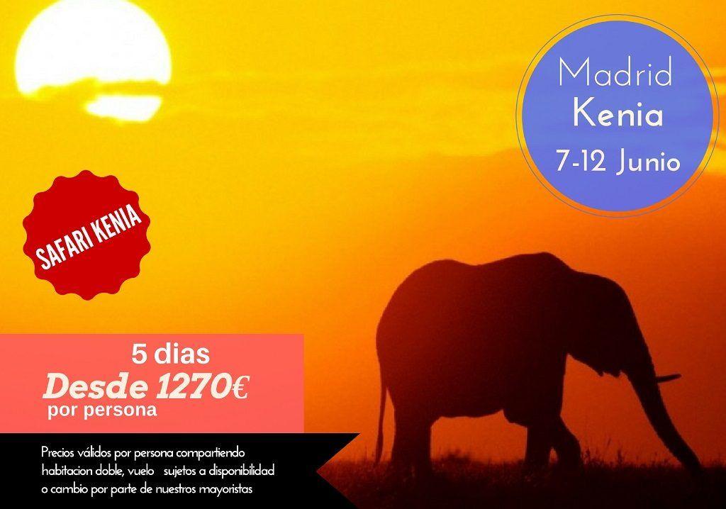 safari kenia 5 dias