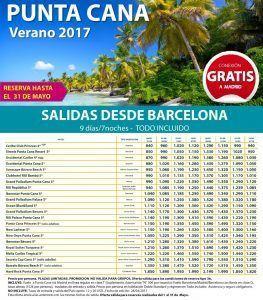 Punta cana verano 2017 - BARCELONA
