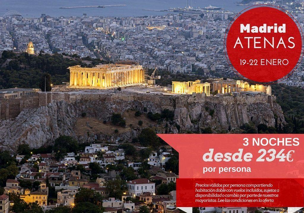 Atenas 3 noches